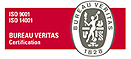 ISO 9001/14001 Bureau Veritas certification